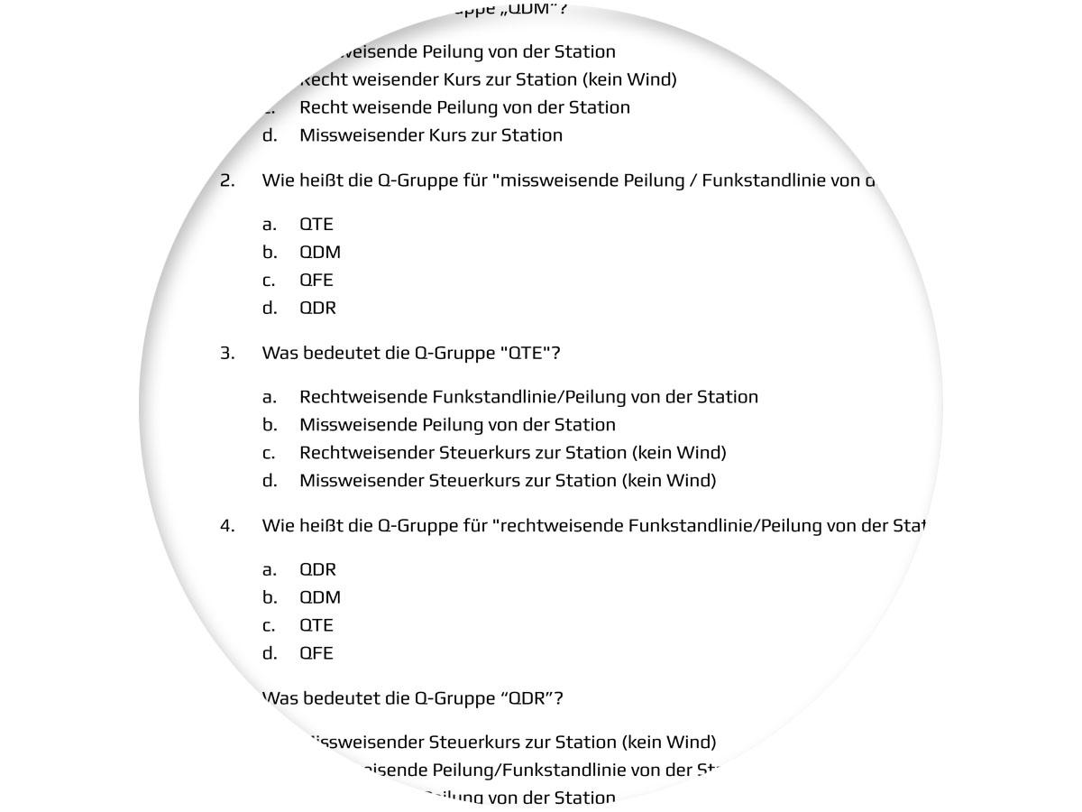 BZF Fragenkatalog