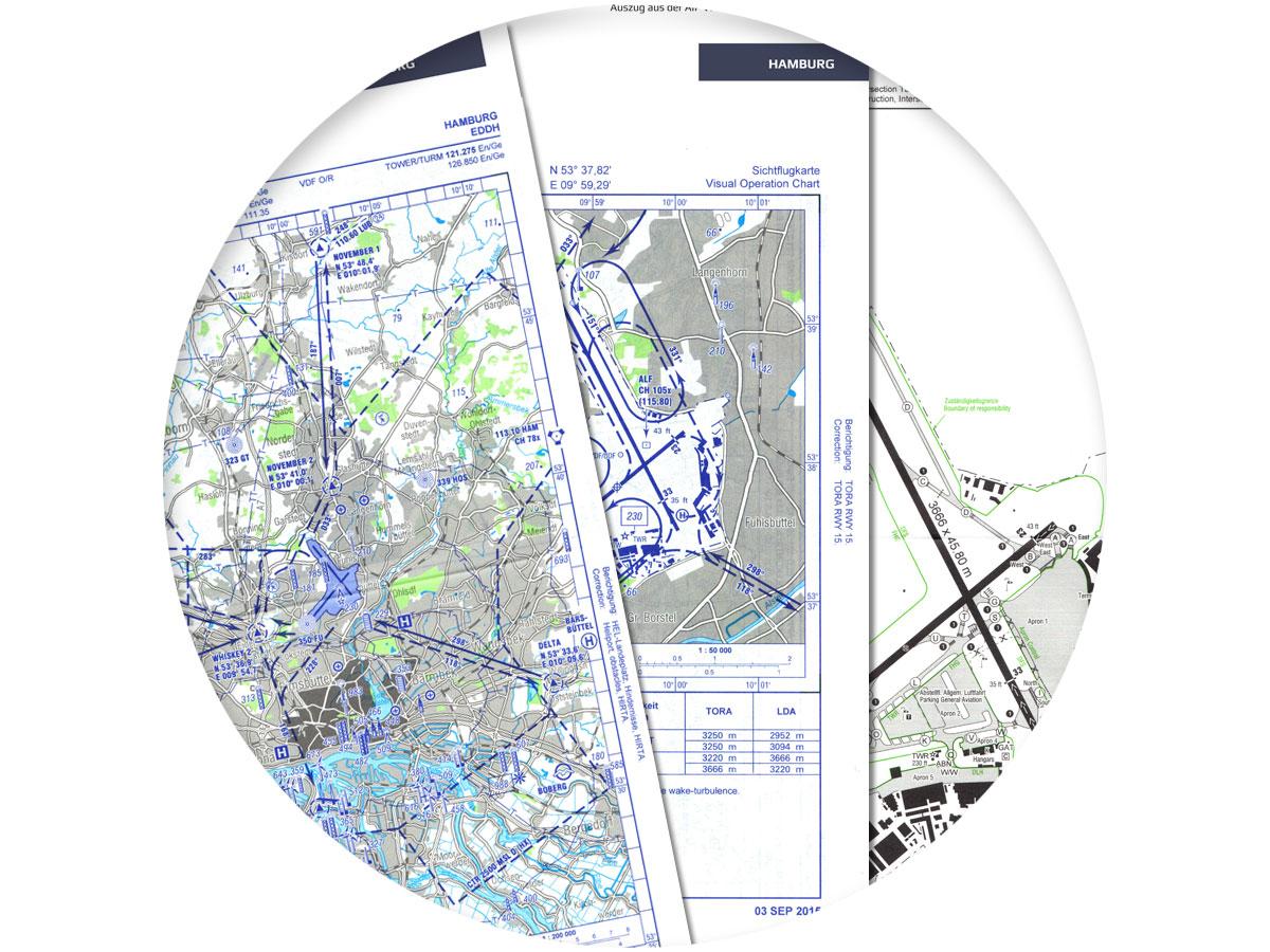BZF Luftfahrtkarten