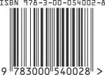 ISBN BZF 978-3-00-054002-8