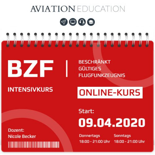 AVIATION EDUCATION - BZF I+II Online-Kurs - 60-0120-050