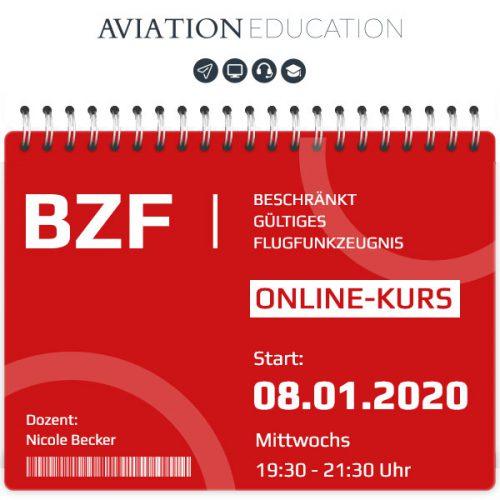 AVIATION EDUCATION - BZF I+II Online-Kurs - 60-0120-050
